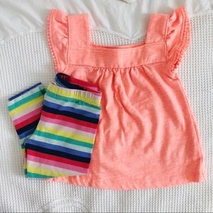 CARTERS bright spring colored outfit